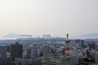 丸亀城から見た街並み