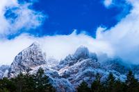 初冬の八ヶ岳(横岳大同心)