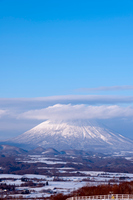 羊蹄山と雪景色