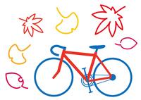 行楽の秋 サイクリング ロードレーサー