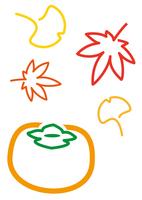 食欲の秋 柿