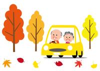 秋 ドライブ シニア