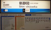 静岡鉄道 新静岡駅駅名標