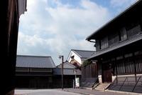 京都 伏見の酒蔵の風景