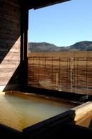 長湯の檜風呂