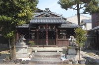 京都 幸神社 本殿