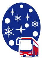 雪国 バスで観光