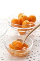 金柑の甘煮ドリンク