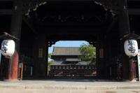 京都 東寺 南大門から見た金堂