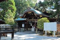 京都 上御霊神社 本殿