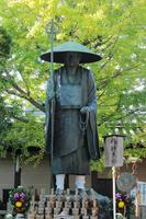 京都 東寺 弘法大師像