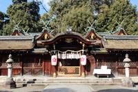 京都 平野神社 拝殿