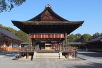 京都 城南宮 祈祷殿
