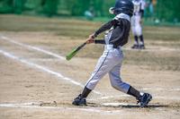 少年野球試合風景