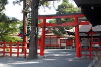 京都 吉田神社 境内