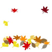 秋イメージ 落ち葉
