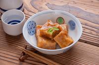高野豆腐の揚げ出し豆腐