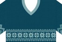 ニット編みのセーターのフレーム素材