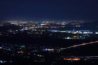 善光寺平の夜景