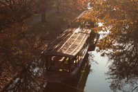 京都 伏見 宇治川派流の風景