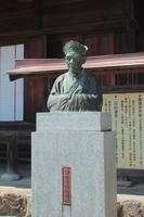 島根県益田市 萬福寺 雪舟像