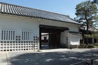 京都 大覚寺 明智門