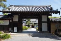 京都 大覚寺 玄関