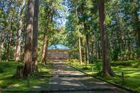 平泉寺白山神社 境内風景