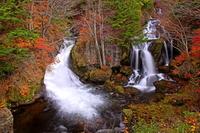 錦秋の竜頭の滝
