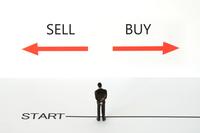 株等取り引きイメージ―買いか売りか