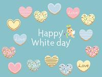 ハッピーホワイトデー アイシングクッキー