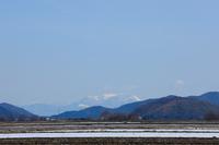 比良山雪景色