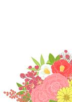 お正月の花_背景タテ