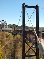 おばあちゃん市山岡の吊り橋