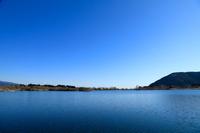 青空と田貫湖