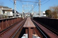 鉄橋の線路