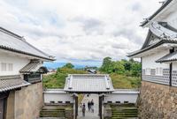 金沢城石川門の秋景色