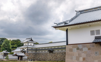 金沢城 五十間長屋と河北門の風景