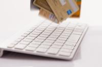 クレジットカードとPCキーボード
