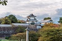 金沢城の夕景