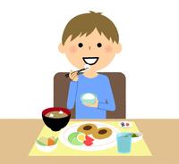 男の子 食事