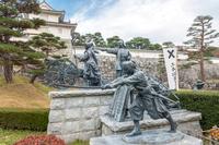 二本松城の風景