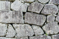 背景素材 二本松城の石垣