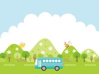 ゴールデンウィークのバスツアー 遠足・行楽