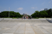 広島平和公園遠景