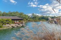 栗林公園 南湖と掬月亭