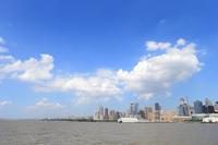 ハドソン川からマンハッタン