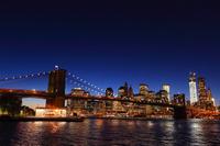 ブルックリン橋 夜景