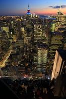 ニューヨーク 夕景 摩天楼