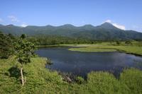 知床連山と知床五湖